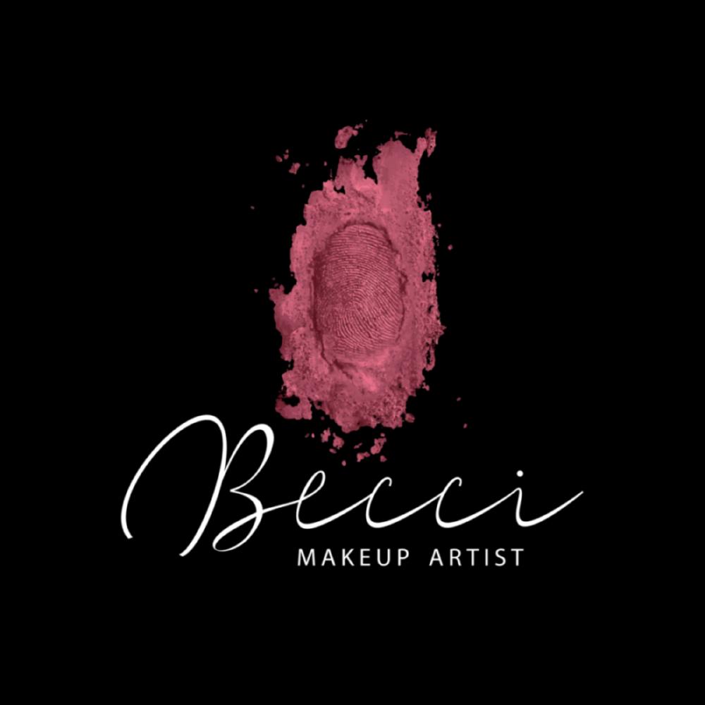 Logo Becci Makeup Artist