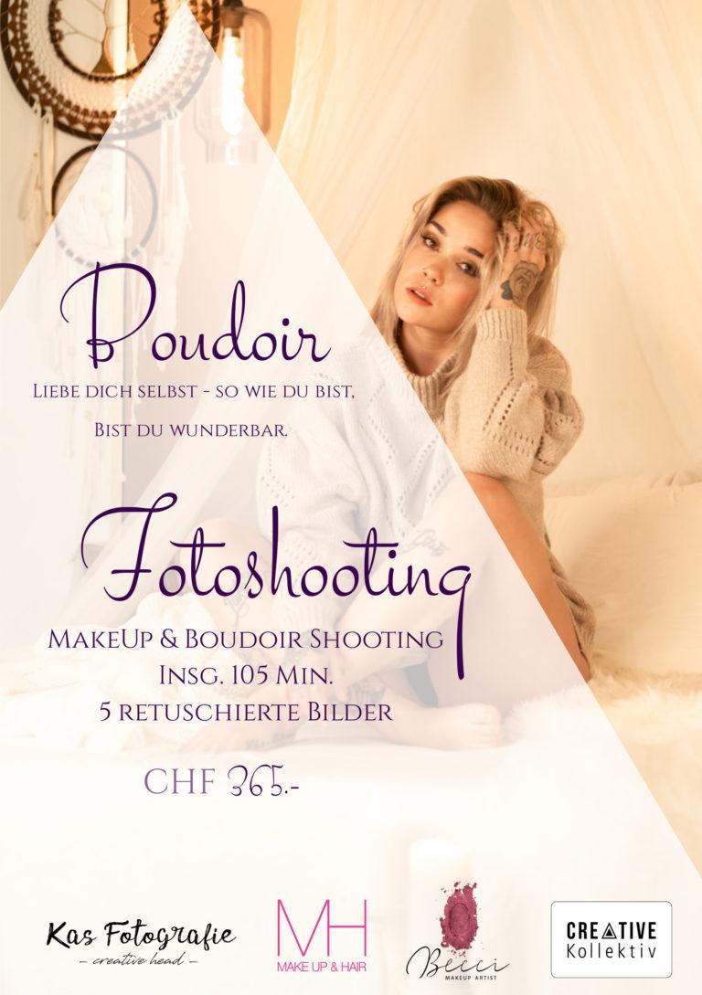 Boudoir Fotoshooting Set Becci Makeup Artist